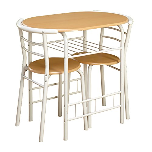 Bistro Table And Chairs Target: Target Marketing Systems 3 Piece Two-Toned Bistro Dining