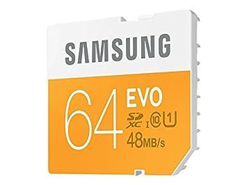 Amazon.com: Samsung 64 GB Evo Class 10 Tarjeta SDXC de hasta ...