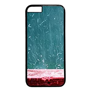 Splashing Rain Protective Hard Plastic Back Fits Cover Case for iphone 6 4.7(inch)-1122056