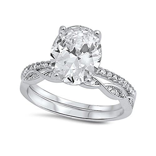 Oval Wedding Band for sale