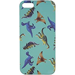 CRSHR Dinosaur iPhone 5 5S 5SE Phone Case in Teal.