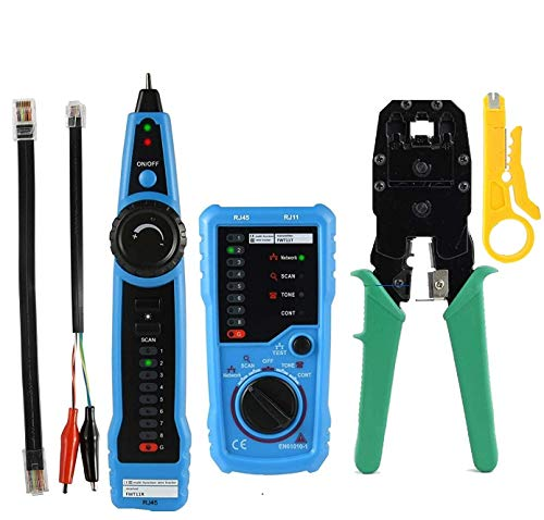 TECHTEST RJ11 RJ45 Cable Tester Multifunction Wire Tracker Measuring Instrument Price & Reviews