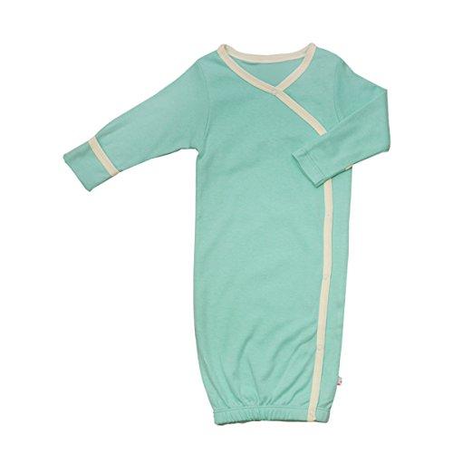 Babysoy Baby Eco Essential Kimono Bundler, Seafoam, 3-6 Months
