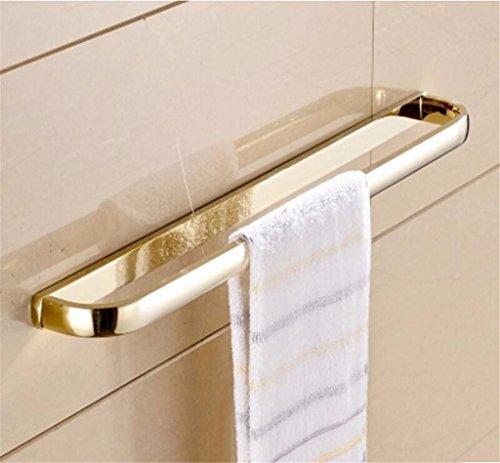 Yomiokla Bathroom Accessories - Kitchen, Toilet, Balcony and Bathroom Metal Towel Ring American antique-brass retro black antique wall-mounted in gold (USA) Single Lever by Yomiokla