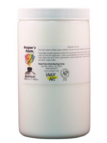 Handy Art Designer's Palette Artist Acrylic 32 ounce, Modeling Paste Medium