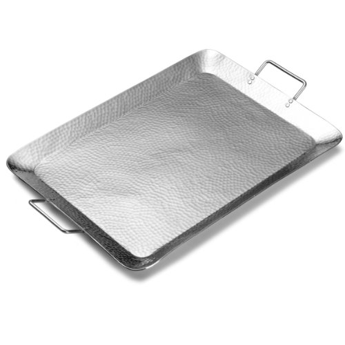 Hammered Aluminum Serving Tray (Towle Hammersmith Serving Tray, 21.5-Inch-by-14.25-Inch)