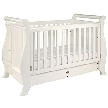 info for ed5cb ab461 Boori Sleigh 3 in1 Cot Bed - White: Amazon.co.uk: Baby