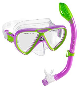 Cressi Pegaso & Iguana, Lime/Purple ()