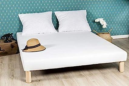 by sommiflex - Somier tapizado (90 x 190 cm, 4 Patas)