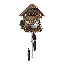 Schneider Quartz Black Forest 10 Inches Cuckoo Clock