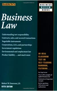 Business law barrons business review series robert w emerson business law barrons business review series fandeluxe Images