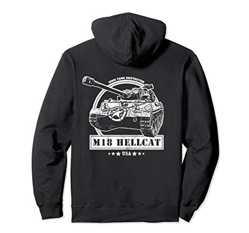 - M18 Hellcat WW2 Tank Hoodie