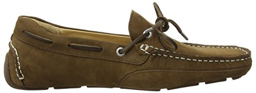 Marron Sebago Kedge brown Nubuck Homme Tie Mocassins Irrdqx6z