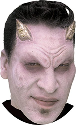 Woochie Classic Latex Horns - Professional Quality Halloween Costume Makeup - Bone Demon -