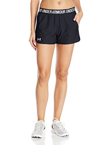 Under Armour Women's Play Up Short 2.0, Black (002), Small