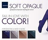 Sigvaris 842 Soft Opaque Closed Toe Thigh Highs w/Grip Top - 20-30 mmHg Long Caramel SL Long 842NSLW83