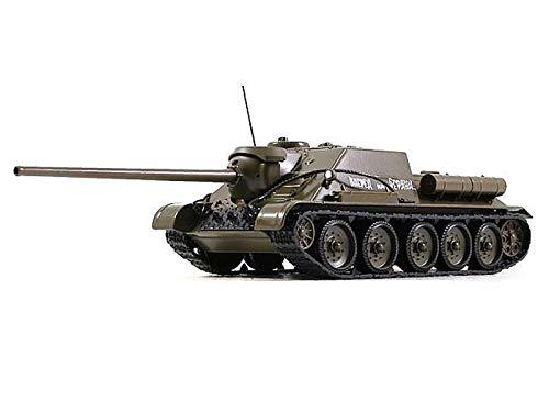 SU-100 1944 Year - Legendary Soviet Tank Destroyer Armed with a 100 mm Anti-Tank Gun - 1/43 Scale Collectible Model Vehicle - Russian Samokhodnaya Ustanovka WWII