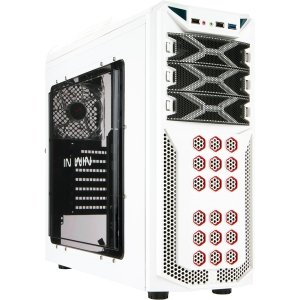 Inwin Development GT1WHITE ATX In Win Gamer Chassis Cases GT1 (white)