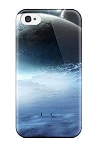 ChrisWilliamRoberson Scratch-free Phone Case For Iphone 4/4s- Retail Packaging - Snow On Mars