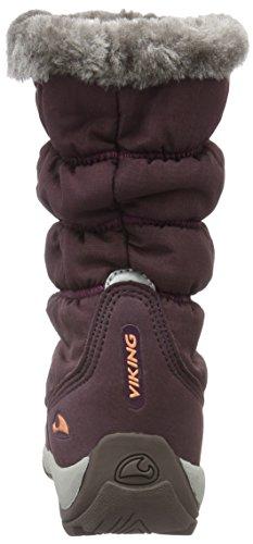 Jade Bottes fille Viking 8351 Aubergine neige Violet Violett de Coral 4UAwdq