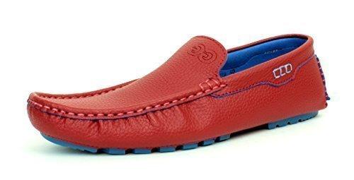 JAS Hombre Mocasines Sin Cordones Informal Zapatos de Conducción Mocasin Diseño Italiano Talla GB: Amazon.es: Zapatos y complementos