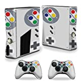 xbox 360 arcade skins for console - MightySkins Skin for X-Box 360 Xbox 360 S Console - Retro Gamer 1   Protective, Durable, and Unique Vinyl Decal wrap Cover   Easy to Apply, Remove, and Change Styles   Made in The USA