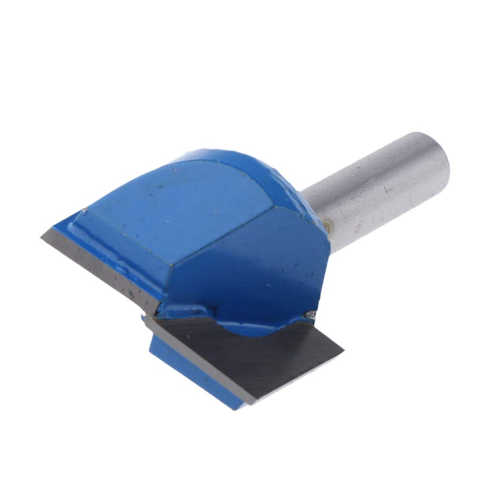 8x10mm Sharplace Bit Router Fresa Pulizia Fondo Lavorazione Legno Lega Acciaio