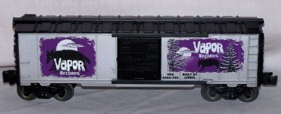 6464 Series Boxcars - Lionel Trains Vapor Records 6464 Boxcar #1 in series Halloween 6-29218