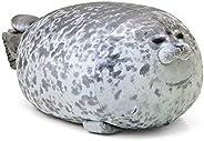 Rainlin Chubby Blob Seal Pillow Stuffed Cotton Plush Animal Toy Cute Ocean Pillow