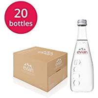 Evian agua mineral botellas Cristal 20x 330ml
