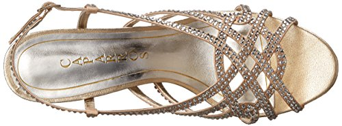 Caparros Womens Winth Dress Sandalo Oro / Metallico
