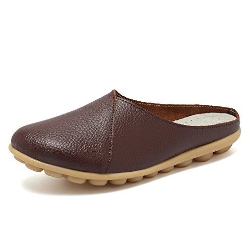 KEESKY+Coffee+Slides+for+Women+Size+9