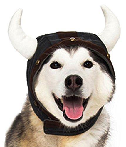 Dog Viking Costumes (Dogo Viking Helmet Hat For Cat Dog Puppy Pet (XL))