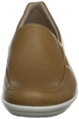 On de Corse Marrón Marron Brown Earth cuero Shoes Mocasines mujer Slip ECCO pX7tqwxna