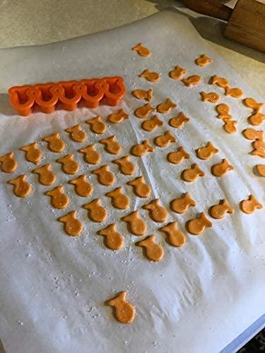 Mini Tiny Fish Cookie Cutter, Goldfish Cracker Multi x5 (2 Pack) - Fun, Baking, Dough, and Fondant Cutter For Kids, Baked Fish-Shaped Maker (4)