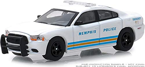 Greenlight 42880-E Hot Pursuit Series 31-2011 Dodge Charger - Memphis, Tennessee Police 1:64 Scale