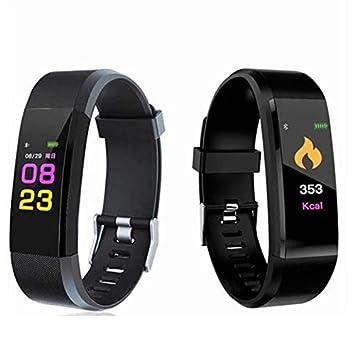 Smart Bracelete Reloj Inteligente ID115 Plus, Envio para Hombres y Mujeres rapido, podometro, presion Arterial, pulsometro: Amazon.es: Deportes y aire libre