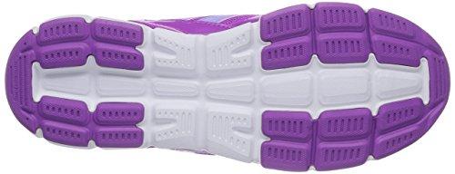 adidas Hyperfast - zapatillas de running de material sintético niña Rosa / Morado / Blanco