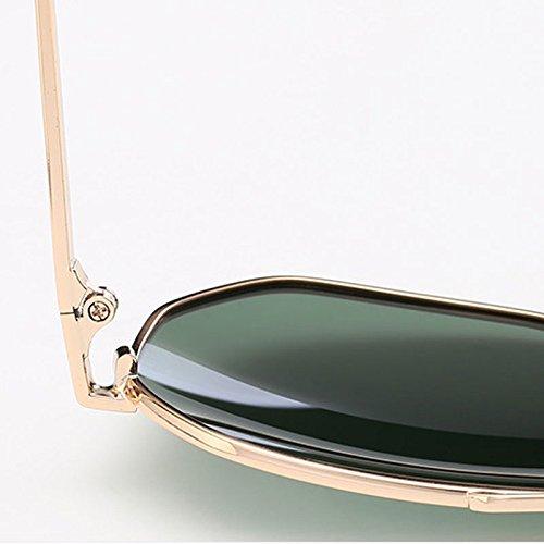 Conduite Black Couleur Nouveau Gray Classique LSX Polarized Green LX air Frame de Sport de Lens Lunettes de en UV Dark Frame Soleil Lunettes Black Lens Verres Plein Gold T0Fgqz