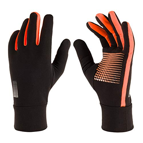 Lightweight Gloves: Sport Running Gloves with Touch Screen Fingers for Men Women (Medium)