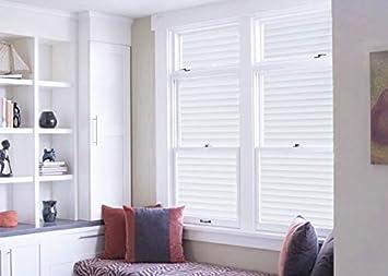 60x150cm Tamia-Home Statische Fensterfolie Universal Sichtschutzfolie UV Schutz 99/% Reduziert W/ärmeschutz Selbstklebend Jalousie P040