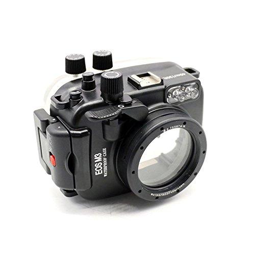 EACHSHOT 40m/130ft Underwater Camera Housing For Canon EOS M3 (22mm Port)