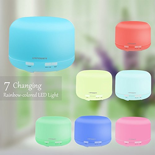 Essential Diffuser Aromatherapy Humidifier Waterless