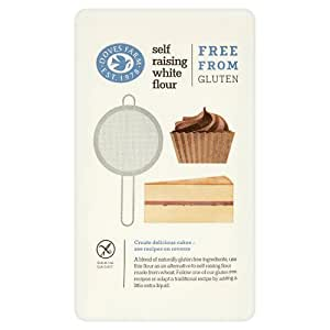 Doves Farm Gluten & Wheat Free White Self-Raising Flour Blend (1Kg)