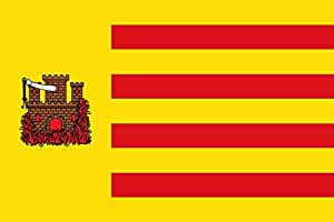 magFlags Large Flag Báguena-Teruel-Spain   landscape flag   1.35m²   14.5sqft   90x150cm   3x5ft - 100% Made in Germany - long lasting outdoor flag