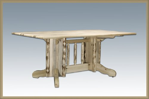 DPTN Montana Collection Double Pedestal Dining Table, Ready to Finish ()