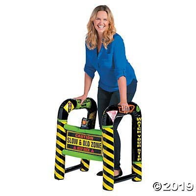 Inflatable Over the Hill Walker - 40th Birthday Party Supplies: Toys & Games