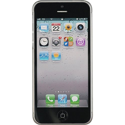 PhoneNatic Case für Apple iPhone 5 / 5s / SE Hülle gold Metallic Hard-case für iPhone 5 / 5s / SE + 2 Schutzfolien