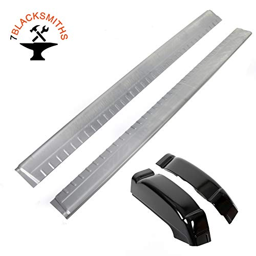 Rocker Panels Extended Cab&Cab Corners (Pair) For 99-07 Chevy Silverado GMC Sierra 4DR Extended Cab