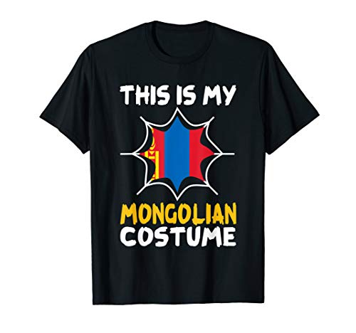 This Is My Mongolian Costume Halloween Patriot